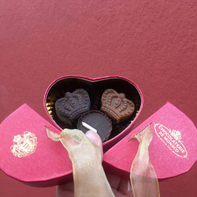 モナコのチョコレート